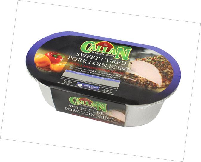 Frozen Range Sweet Cure Pork Loin Joint Mixed Pepper