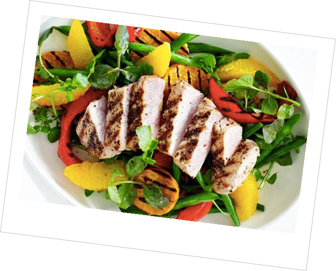 Crispy Ham & Orange Salad